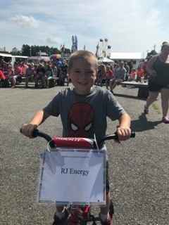 Business Donated Bike to Local Maine Fair